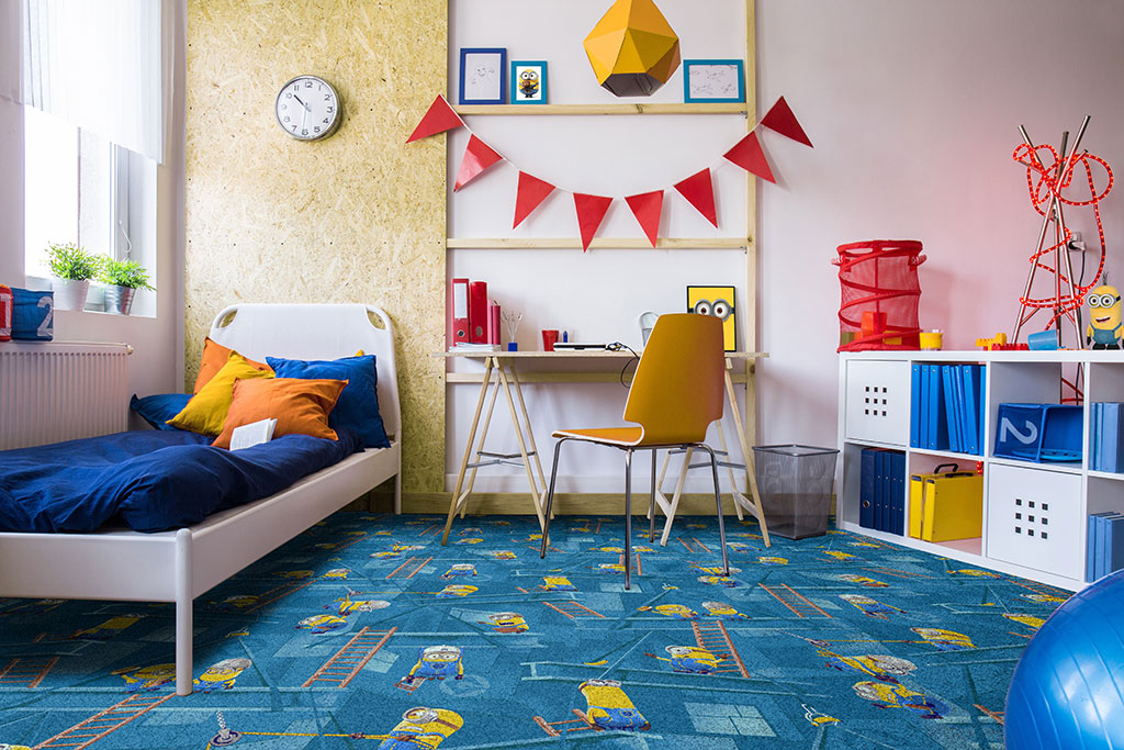 Kids Wall To Carpet Ideas
