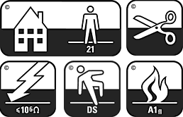 Floor Covering Standard Symbols
