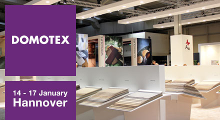 Visit us at Domotex 2017