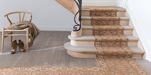 Fabulous Treppenteppich, Teppich für Treppen, Hallen und Lande GU46
